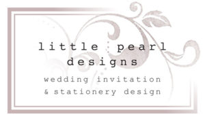 Little Pearl Designs Wedding Invitations & Stationery Design